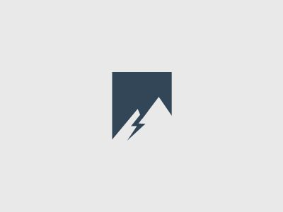 Blue Mountain Electric Logo par Sean Farrell