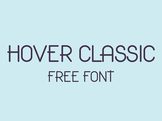 Hover Classic Free Font by Gatis Vilaks - 4