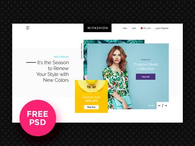 Fashion Store Free PSD Template par Luis Costa - 08