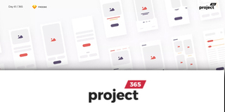 Project 365 : Une interface en web design par jour !