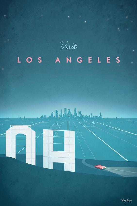 Los Angeles par Henry Rivers
