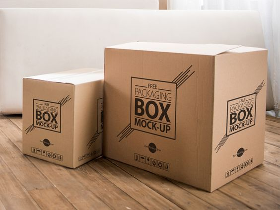 Free High Quality Packaging Box On Wooden