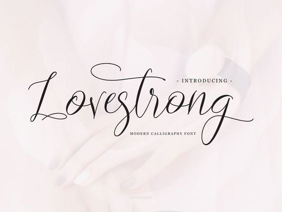 Lovestrong Script font (Free for personal use) par Yahdi romelo - 23
