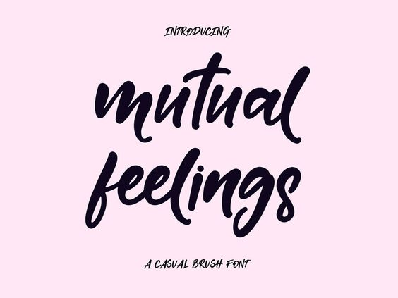 FREE Mutual Feelings Font - 16