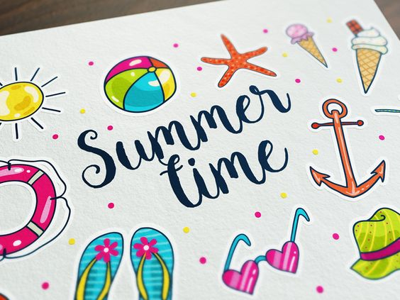 FREE Summertime Doodle Icons