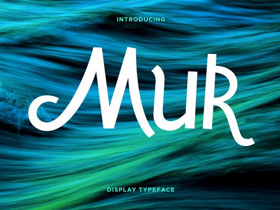 Mur Typeface - FREE Download - 02