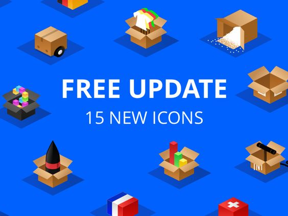 Isometric boxes - free update par Alex Martinov - 25
