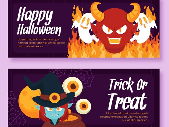Halloween Theme Designs parMONSTERLELE Studio