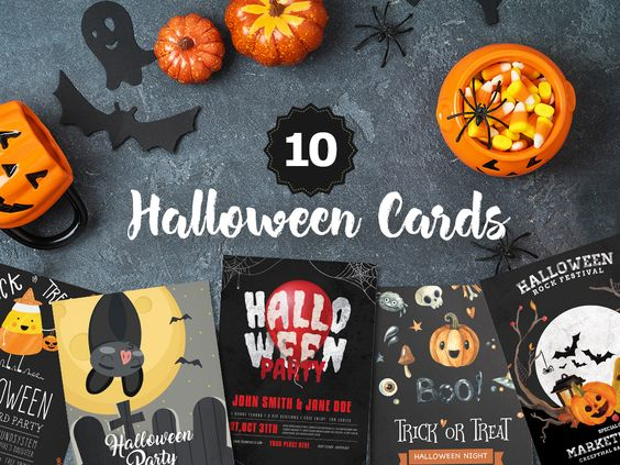 10 Free Halloween Cards