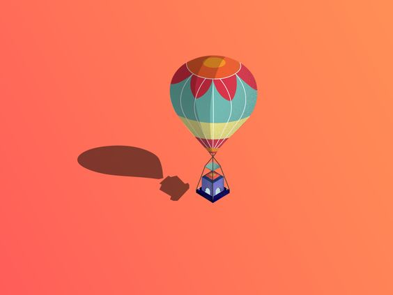 Hot Air Balloon par techPotato