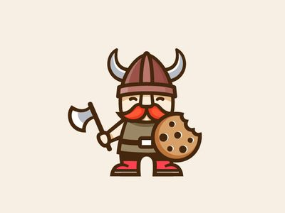 Viking character design par soniaydesigns