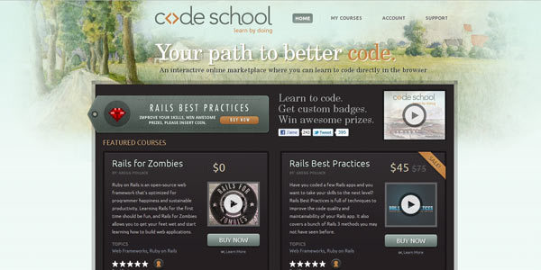 Code School - Learn by Doing
