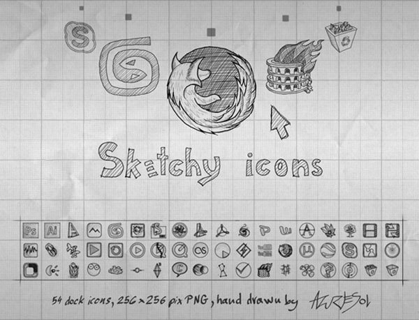 sketchy-icons-by-azuresol