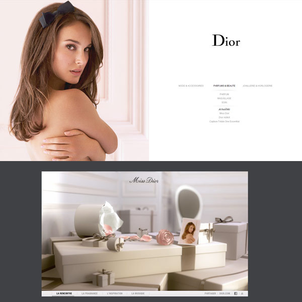 Miss Dior site web