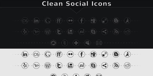 clean-social-icons