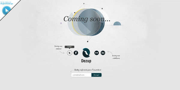 Dezup web design interactif