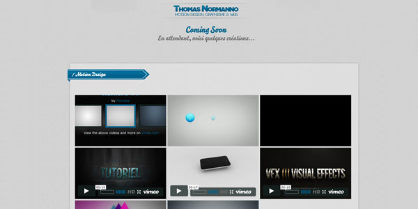Thomas Normanno - Portfolio Motion Designer