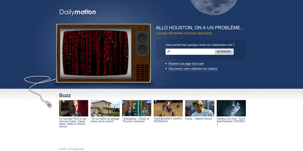Dailymotion – 404 Not Found