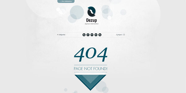 Notes Dezup - agence interactive 404 Not Found