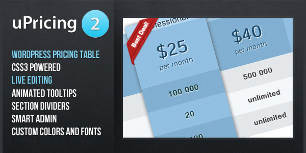 upricing-pricing-table-for-wordpress