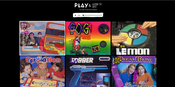 play and listen to gifs