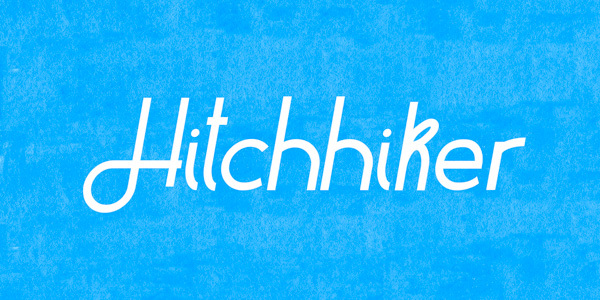 Hitchhiker-Free-Font
