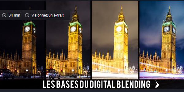 Tuto Digital Blending le bases en 30 minutes avec Photoshop CC