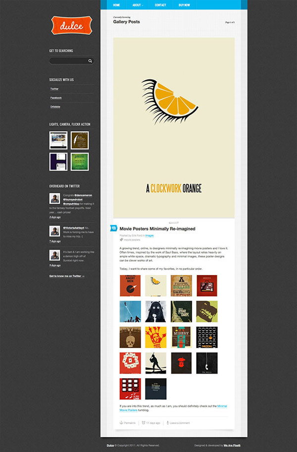 dulce-a-tumblr-style-wordpress-theme