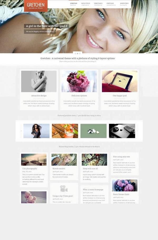 gretchen-flexible-wordpress-theme