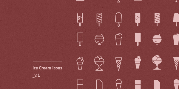 ice-cream-icons-vector-psd