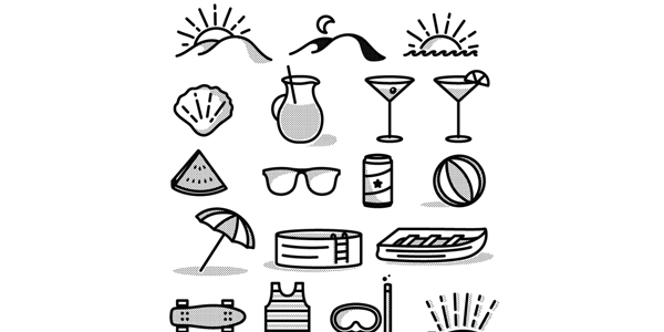Free-Summer-Icon-Set