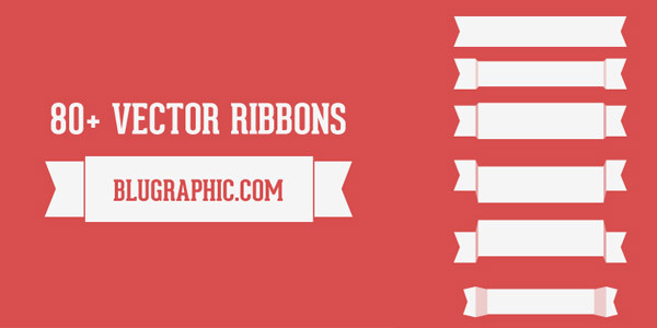 80-vector-ribbons
