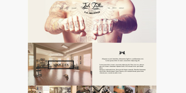 inktattoo-psd-template