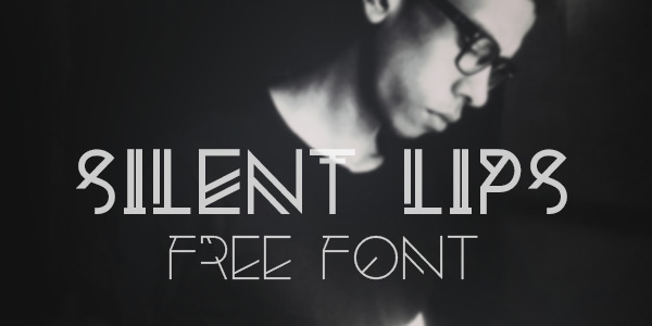Silent-Lips-Experimental-Free-Font