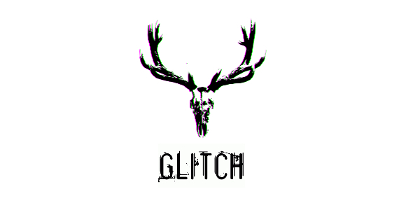 glitched cerf