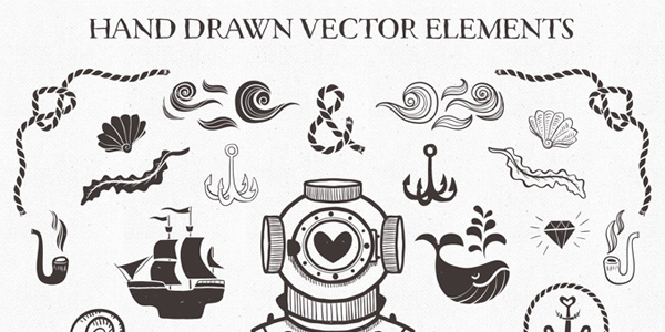 nautical-vector-pack-free