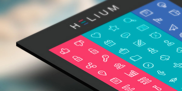 freebie-helium-icon-set