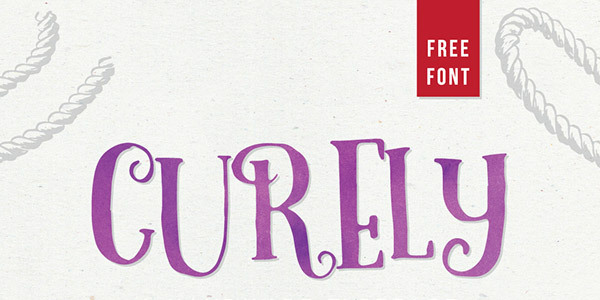Curely-Free-Typeface