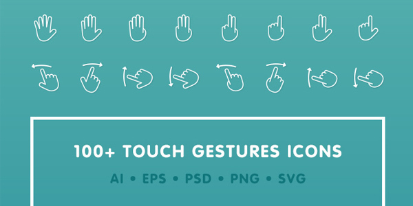 touch-gestures-icons
