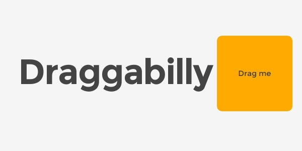 Draggabilly, library javascript pour drag and drop