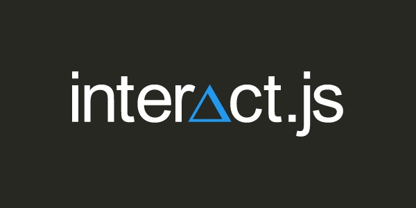 Interact, library javascript pour drag and drop