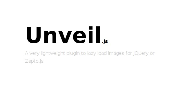 jquery-library-unveil