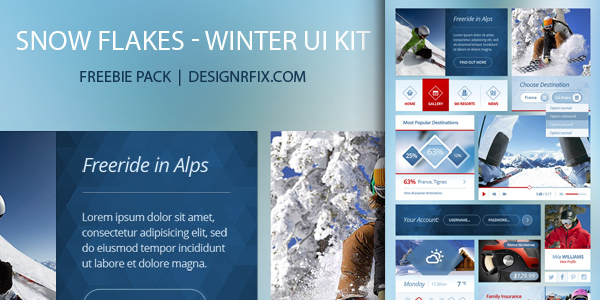 snow-flakes-winter-ui-kit