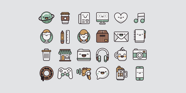 Pamoke-Free-Icon-Set