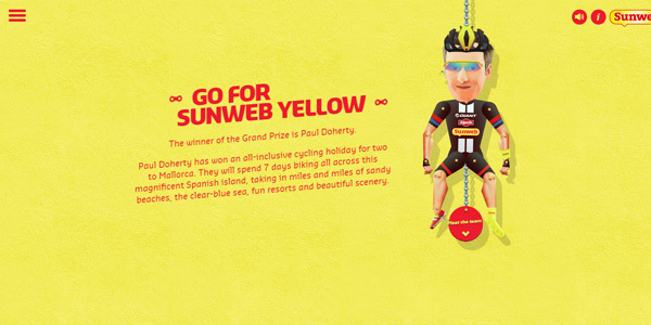 go for sun web yellow