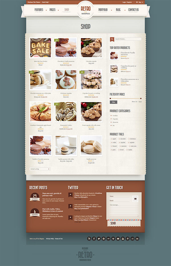 retro-vintage-wordpress-theme
