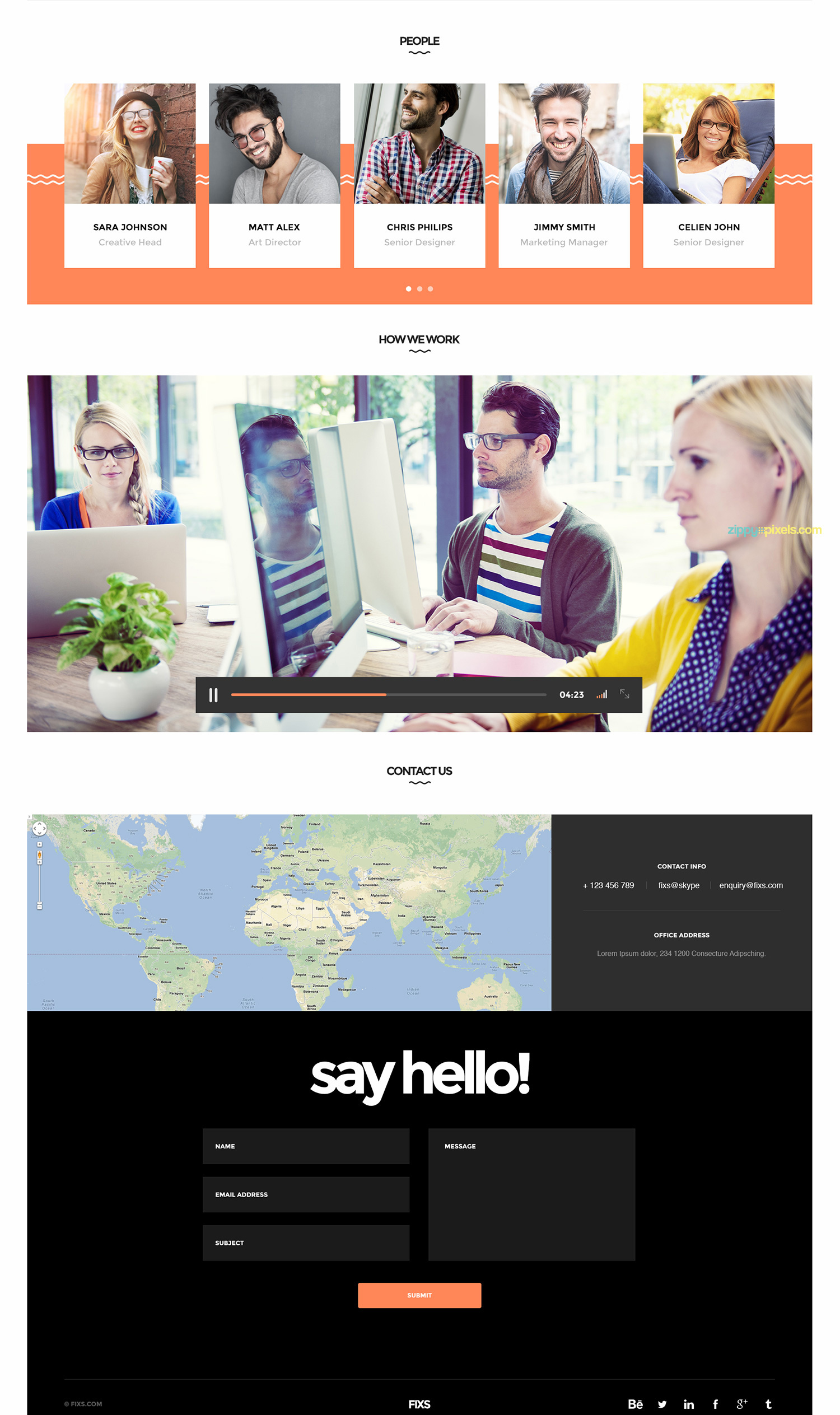 Free-Single-Page-Website-Template
