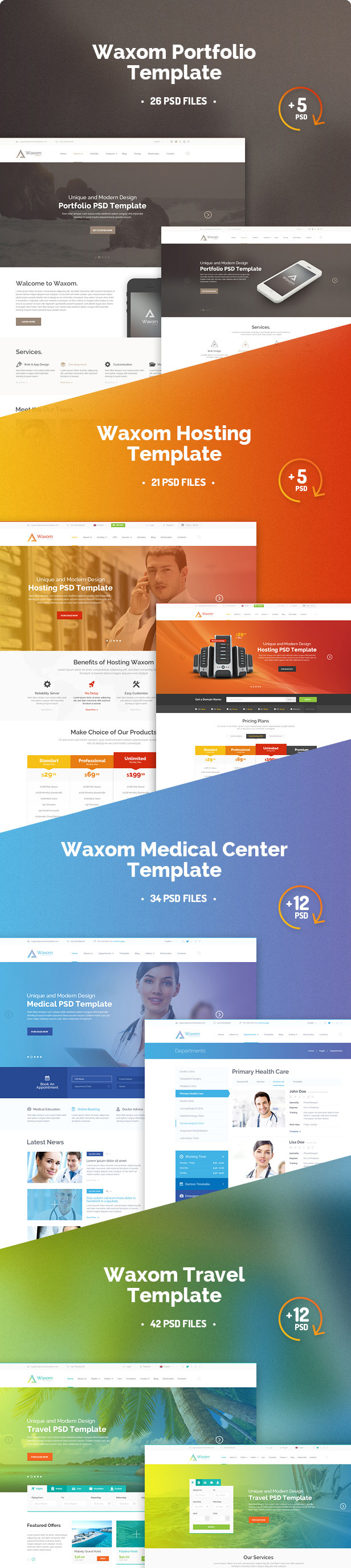 waxom-clean-universal-psd-template