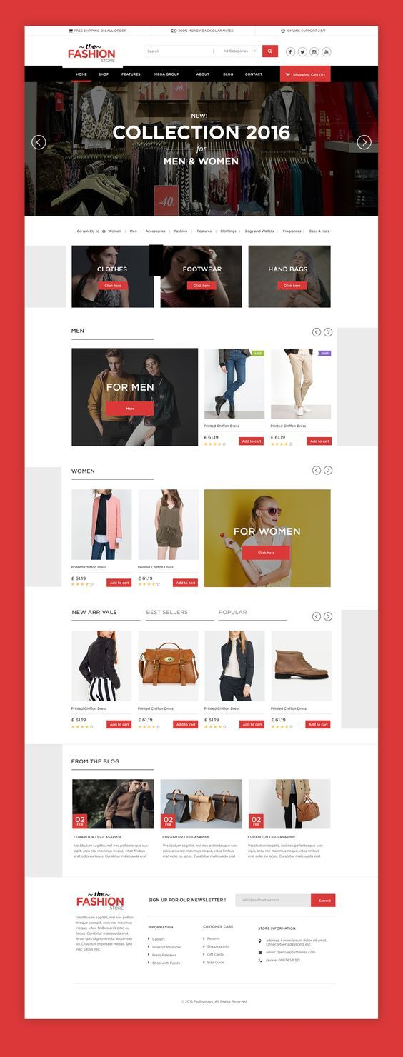 Freebie-Multipurpose-eCommerce-Website-free-PSD-Template