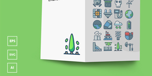 freebie-pollution-energy-icons